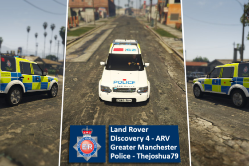 Greater Manchester Police Armed Response Vehicle- Land Rover Discovery 4