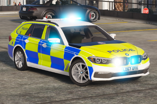 Greater Manchester Police BMW 530D G31 Skin