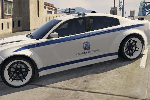 Greek 2018 Dodge Charger Police (NonELS)