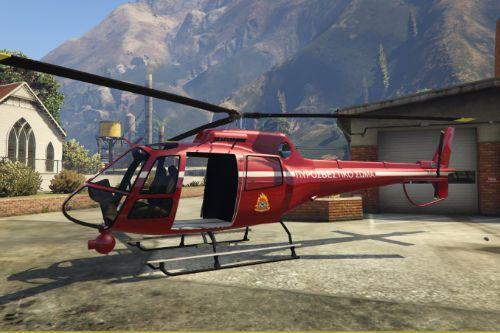 Greek Firefighting Helicopter Skin For Polmav