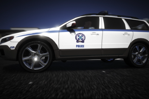 Greek Police Volvo XC70