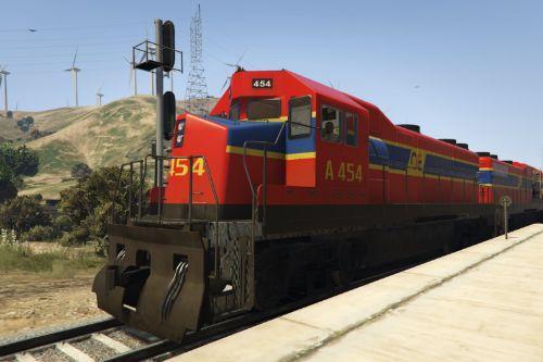 Greek Railways Freight Train Ο.Σ.Ε.