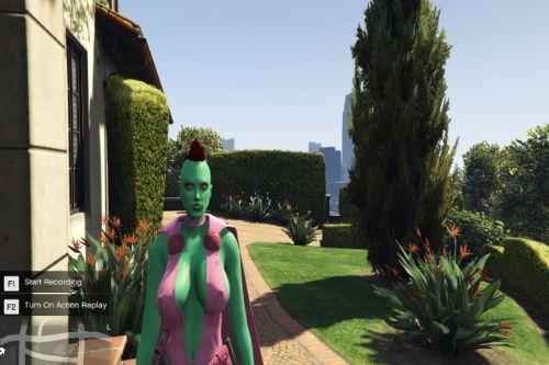 Green Goblin Female ( Adult Skin )
