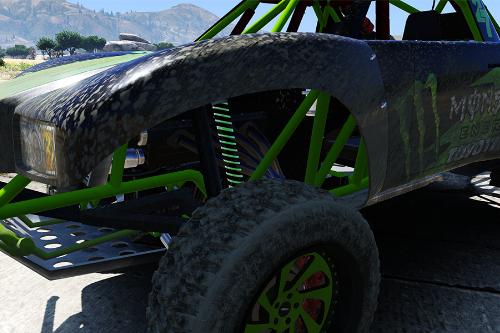 Green Trophy Truck Springs