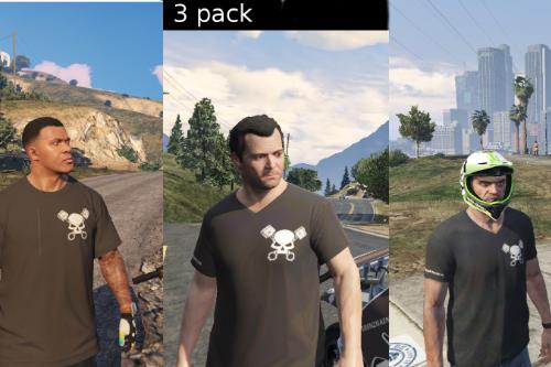 Grenzgänger T-shirt-pack
