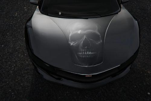 Grey Skull Livery for Jester2