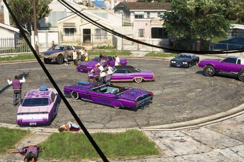 Grove Street Ballas - Gang Hangout (Menyoo)