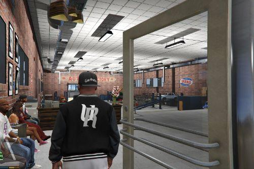 Grove Street Garage Upgrades - Mlo Interior and add-on exterior