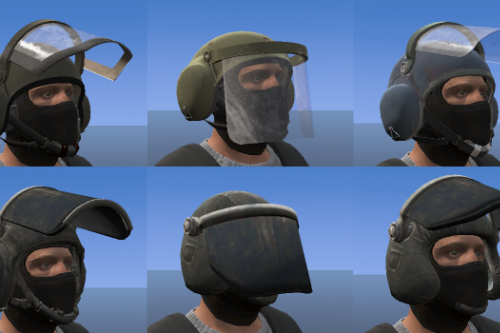 GSG9/SEK Helmets for MP Freemode + Ballistic Shield [EUP]