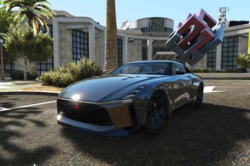 Nissan GT-R50 Concept [Add-On]