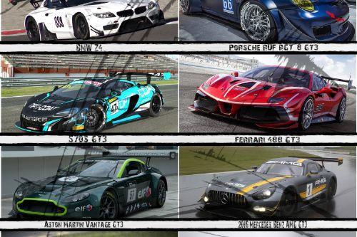 GT3 Racing Handling pack - Viper