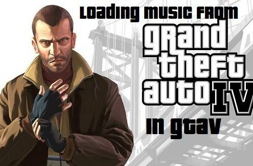 gta 4 loading music for gta 5