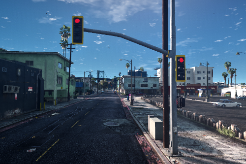 GTA 5 mccain Traffic signals
