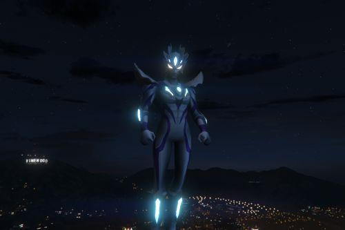 GTA 5 Mod Ultraman Zero Beyond [Add-On Ped]