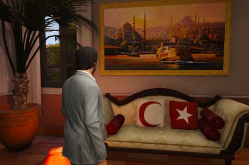 Gta 5 TURKİSH TEXTURE PACK (MİCHAEL'S HOUSE)[OIV]