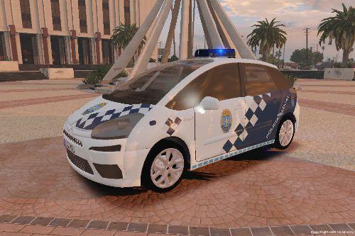 Citroën C4 Picasso policia local Galicia