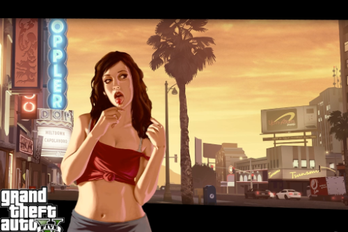GTA GAME COVERS AND MORE IN LOADING SCREEN