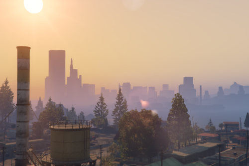 GTA III in GTA 5 BETA