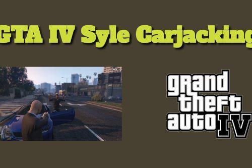 GTA IV Carjacking