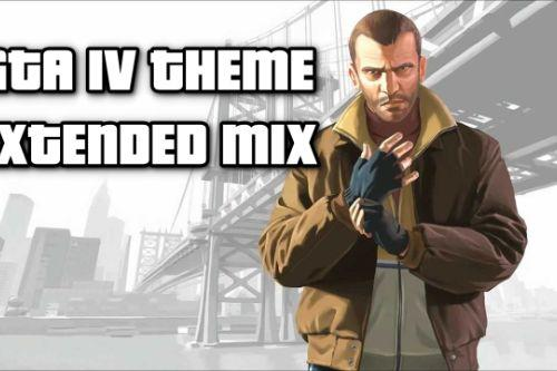GTA IV Main theme extended loading screen music (Soviet Connection Extended Mix)