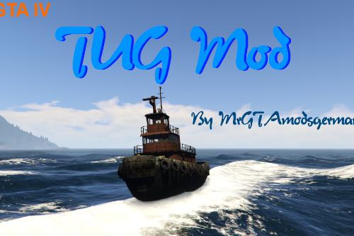 GTA IV Tug Boat