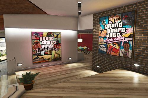 GTA Posters in Franklin's House