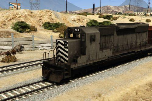 GTA San Andreas Freight Train [Replace]