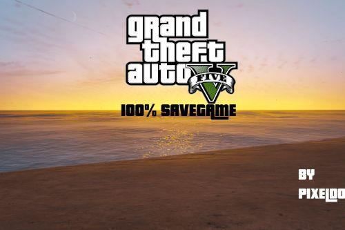 GTA V - 100% Savegame