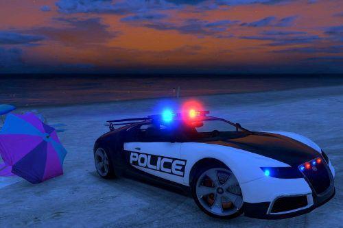 Bugatti (Adder) Police - LSPD