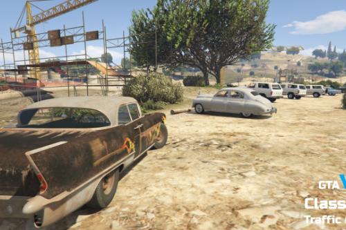GTA V Classic Traffic Mod