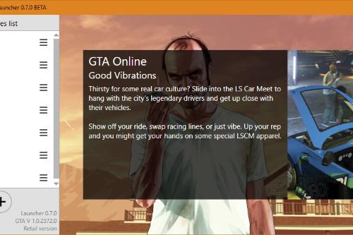 GTA V Modding Launcher