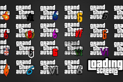 GTA VI Logo & Loading Screens