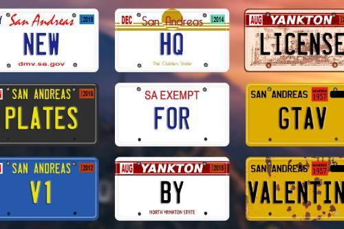 6f8bd8 new hq license plates for gtav by valentinb