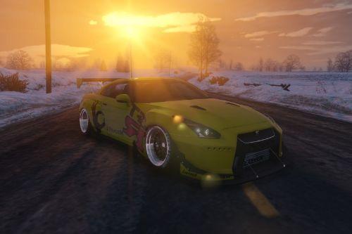 GTR Pandem livery for GT-R Spec-V Pandem