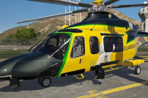 Guarda di Finanza - Elicottero aw139 Agusta Westlands Helicopter