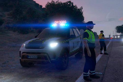 Guardia Civil Land Rover Discovery [Replace | ELS]