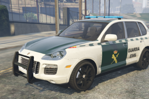 Guardia Civil Porsche Cayenne Paintjob