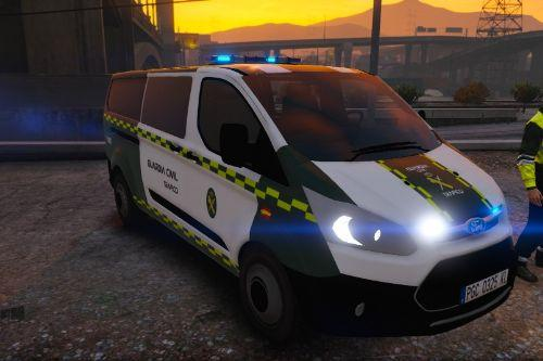Guardia Civil Trafico Ford Transit