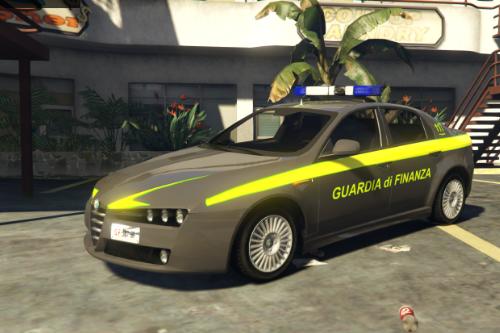 Guardia Di Finanza - Alfa Romeo 159