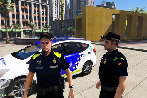 Guardia Urbana Barcelona cops