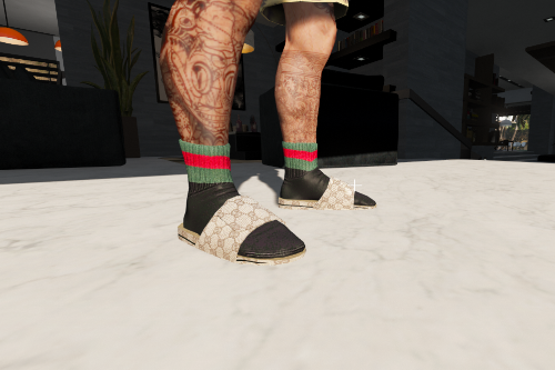 Gucci Flip flops and socks for MP male