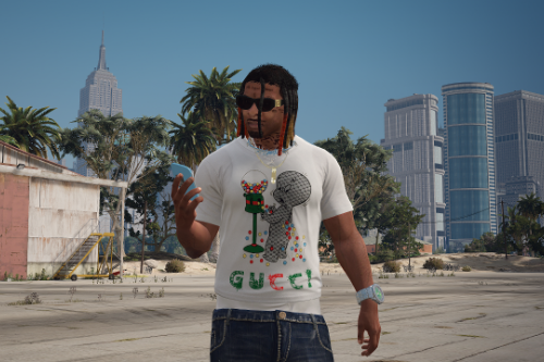 Gucci Ghost Gumball T-shirt (Franklin)