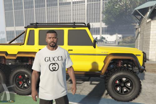 Gucci Logo T-Shirt for Franklin