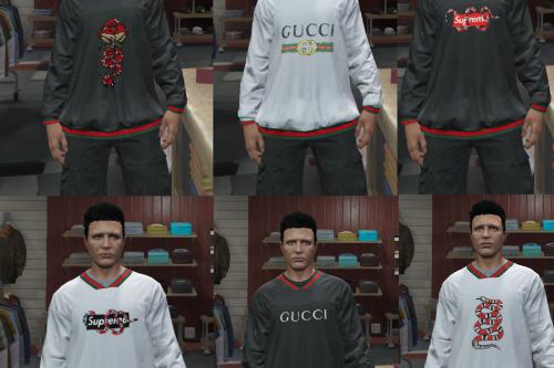 Gucci Shirt Pack