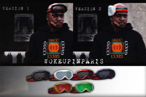 GUCCI SKI GOGGLES (6 Color Variations)