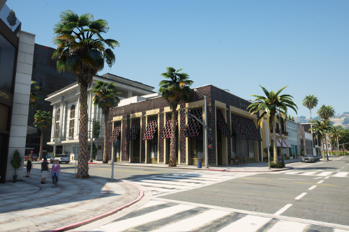 GUCCI Store at Beverly Hills Avenue