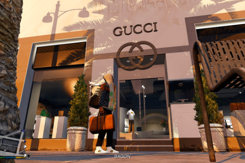 Gucci store retexture for Ponsonbys
