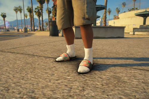 Gucci Strawberry Slide Sandals