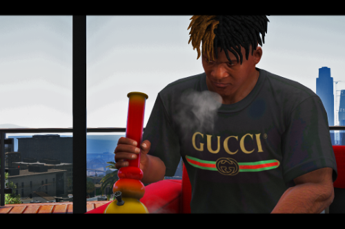 GUCCI T-Shirt (Red, Green and Gold)