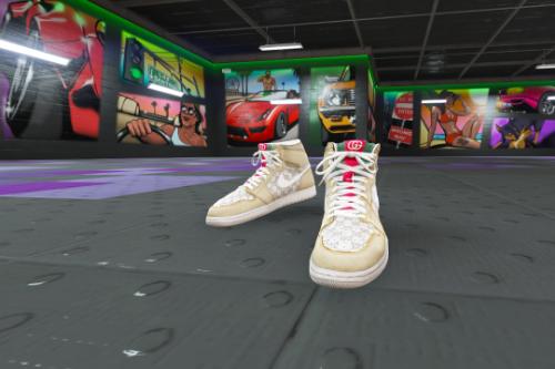 Gucci x Nike Custom Air Jordan 1 for Franklin